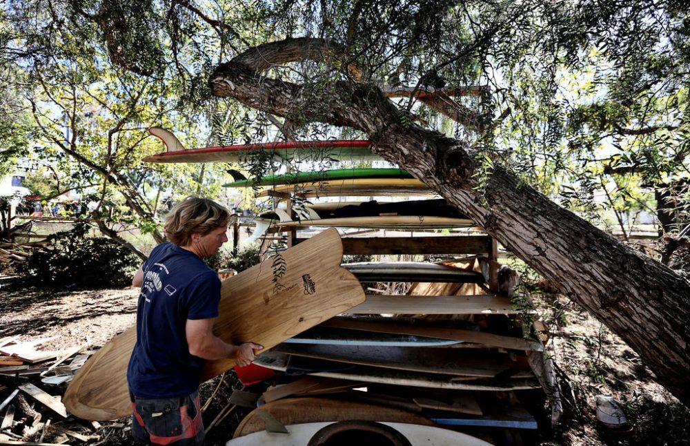 Jon Wegener's Garden Surf Rack
