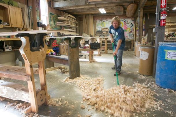 Wegener SHaping Handcrafter Wooden Alaias