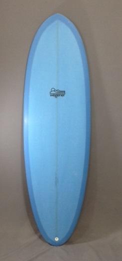 Dynamo Forgiving Shortboard Wegener Blue Front