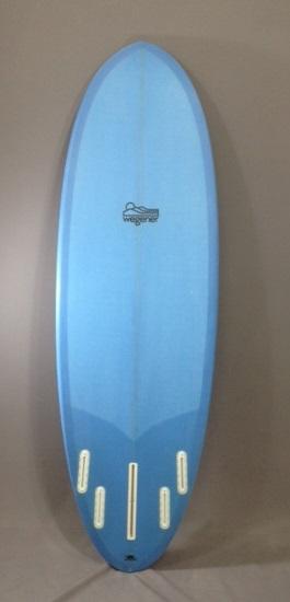 Dynamo Forgiving Shortboard Wegener Blue Back